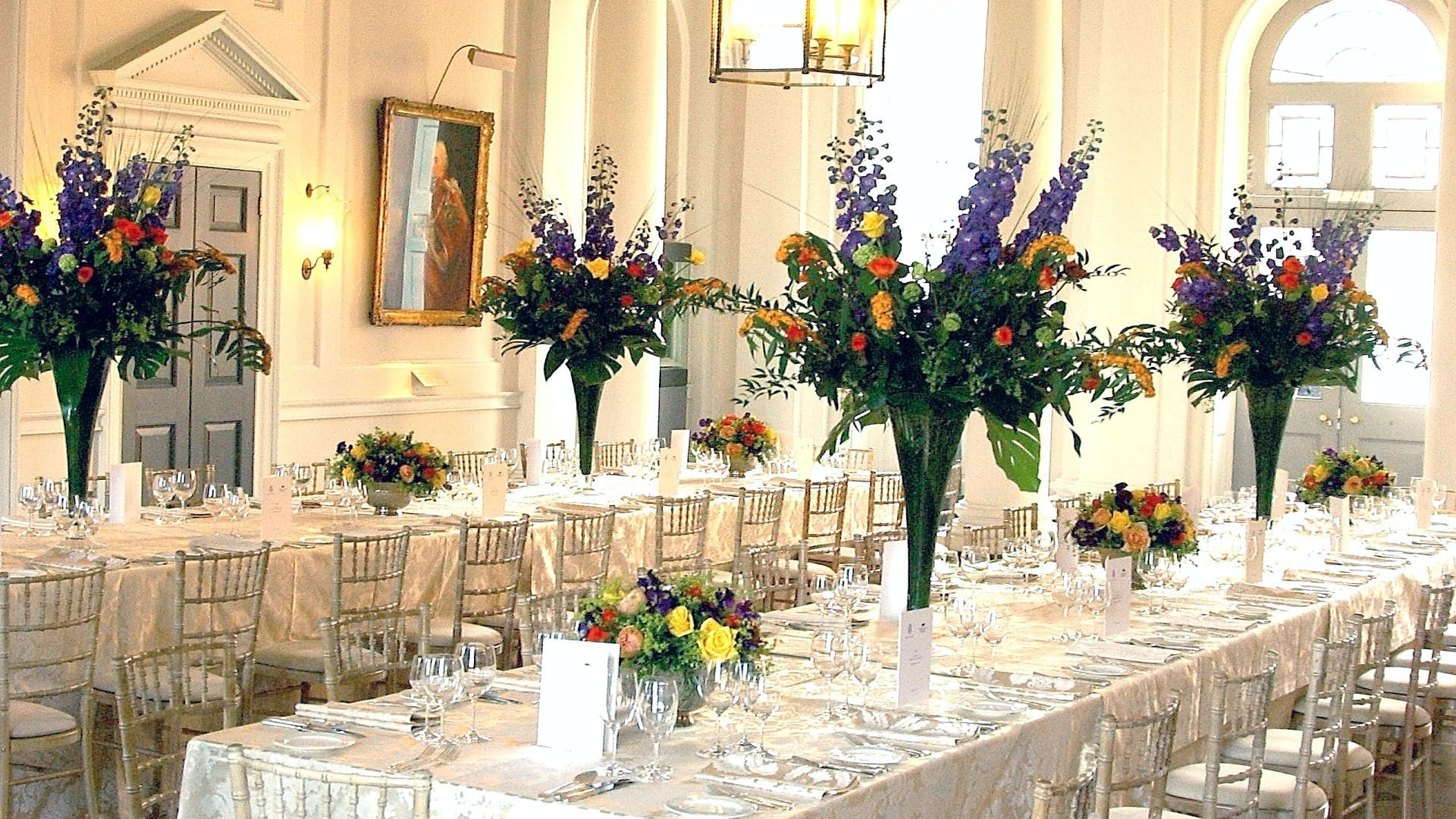 The Seamen 39 S Hall Dining Hire Somerset House