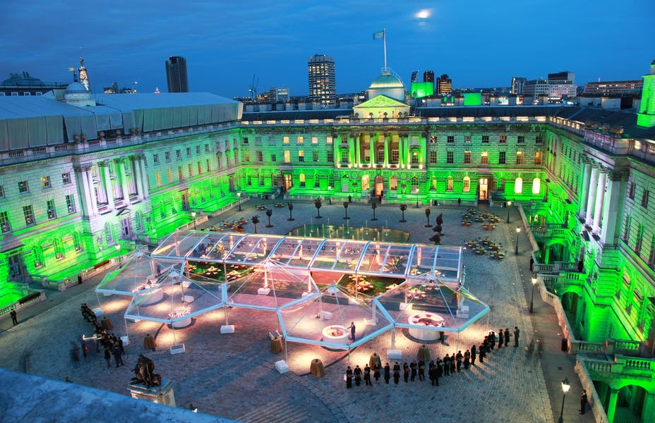 Photo of The Edmond J. Safra Fountain Court at Somerset House