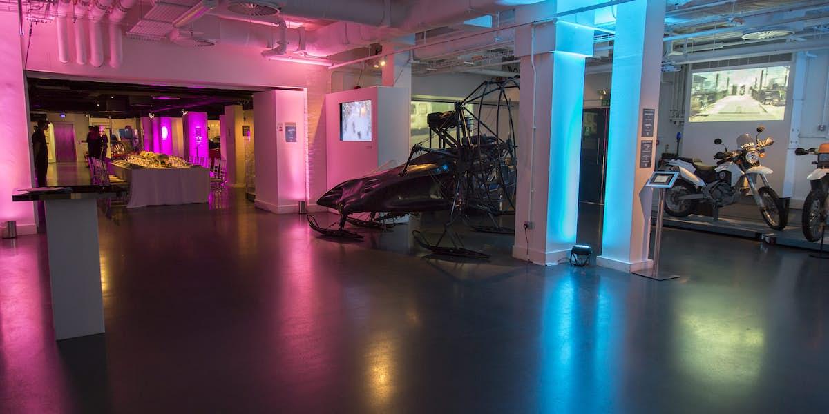 D Exhibition London : Hire london film museum covent garden