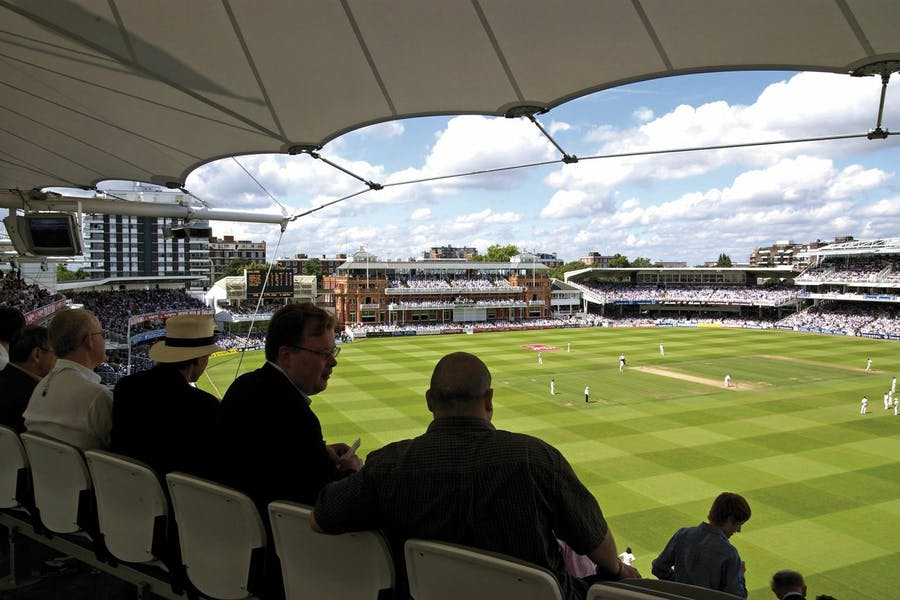 Photo of Mound Stand Terrace at Lord's Cricket Ground
