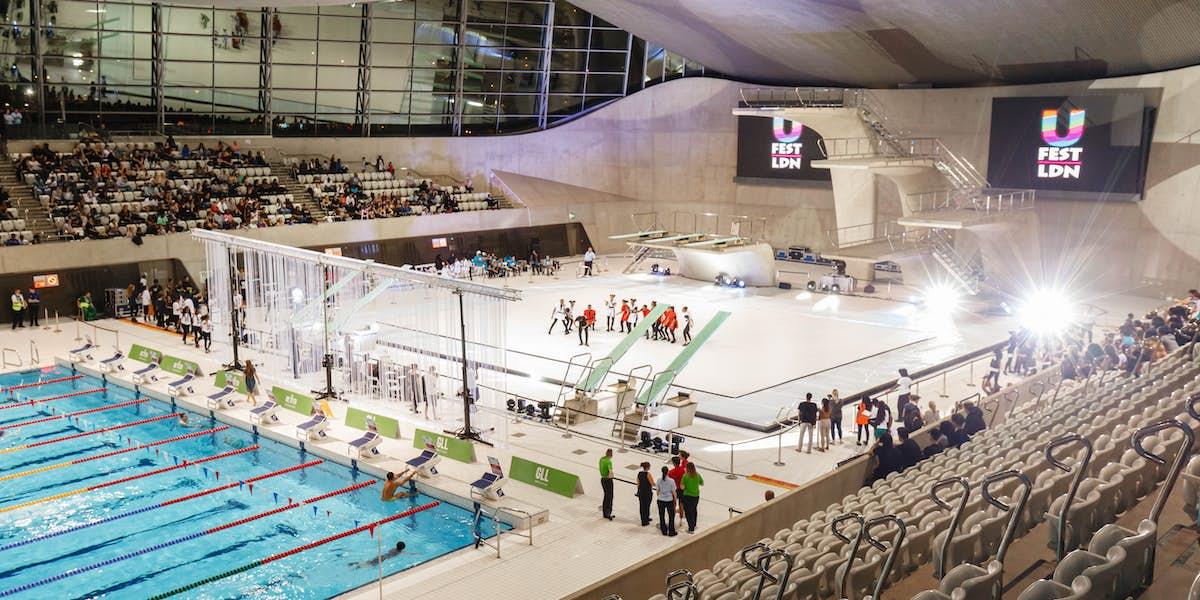 Hire london aquatics centre - Stratford swimming pool opening times ...