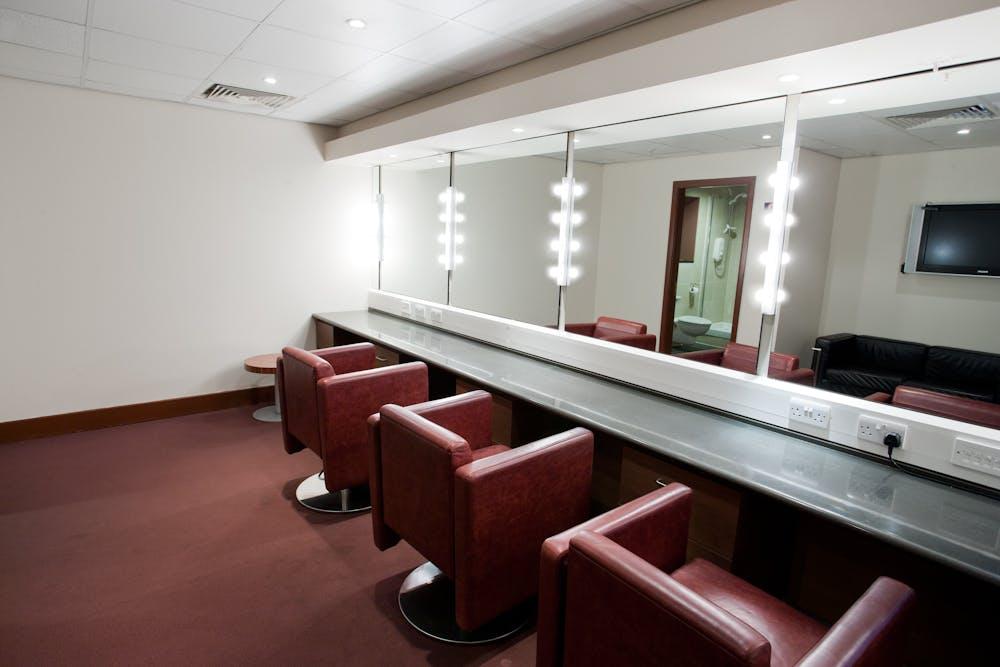 Dressing Room at indigo at the O2