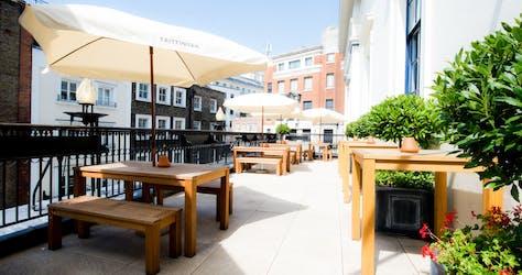 Hire Space - Venue hire Taittinger Terrace at Theatre Royal Drury Lane