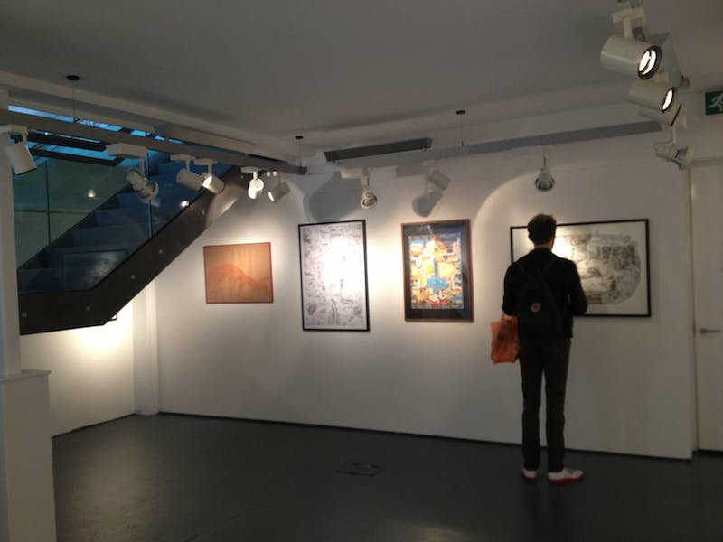 Photo of Café Gallery at Rich Mix