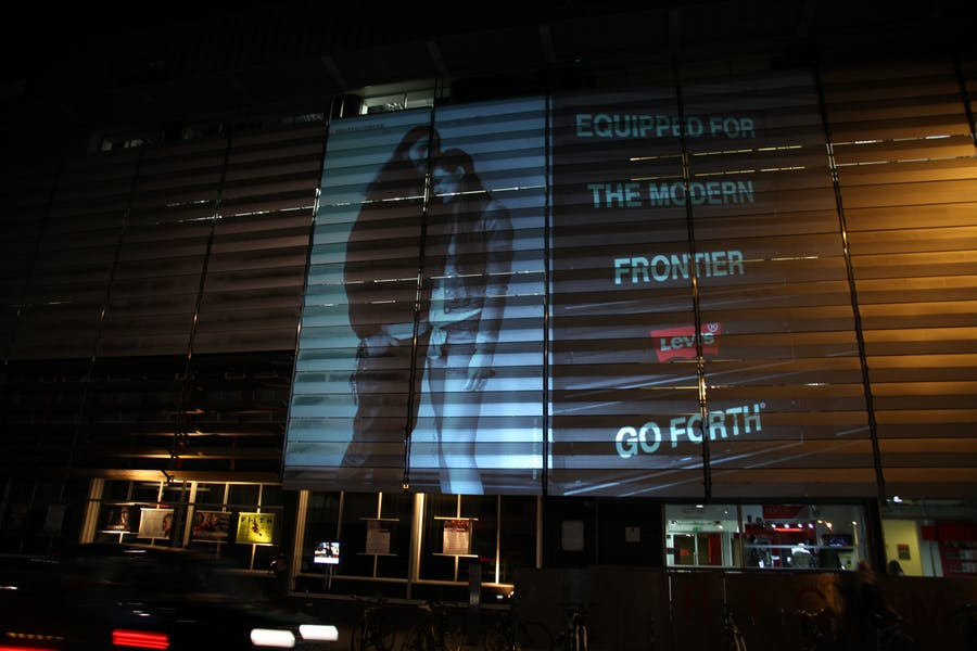 Photo of Outdoor Projection at Rich Mix