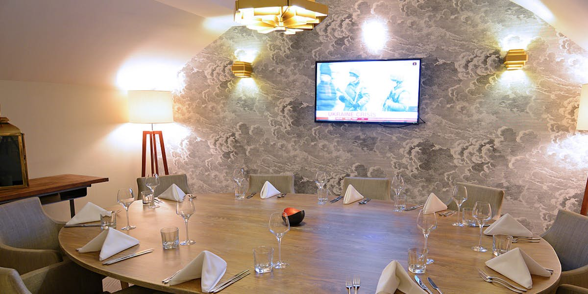 Hire george 39 s dining room bar for Best private dining rooms manchester