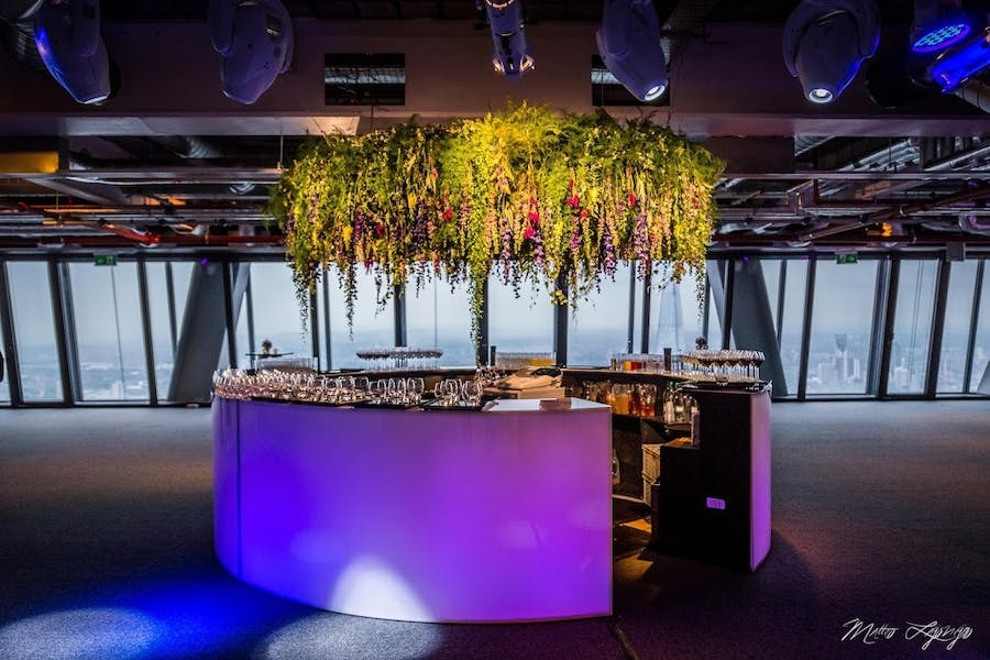 Photo of Whole Venue at Landing 42 at the Leadenhall Building (Created by Venue Lab)