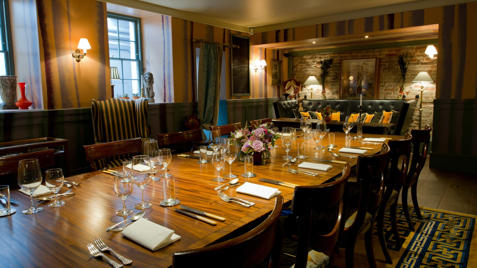 The games room the zetter townhouse clerkenwell for Dining room zetter townhouse
