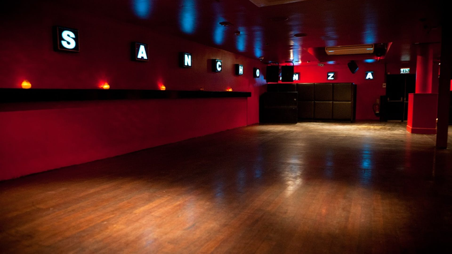 The Basement Club Events Hire Trapeze Bar