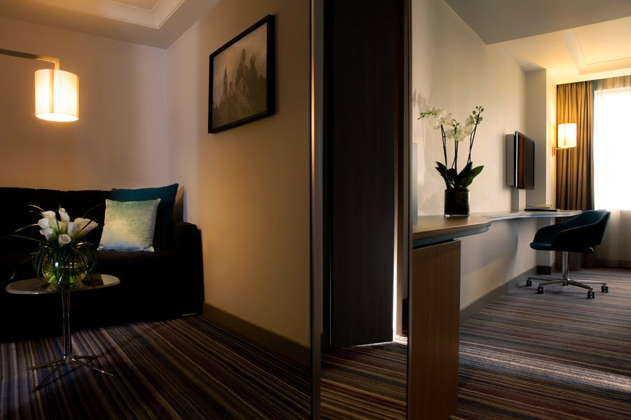 Photo of Bedrooms at Pullman London St Pancras Hotel