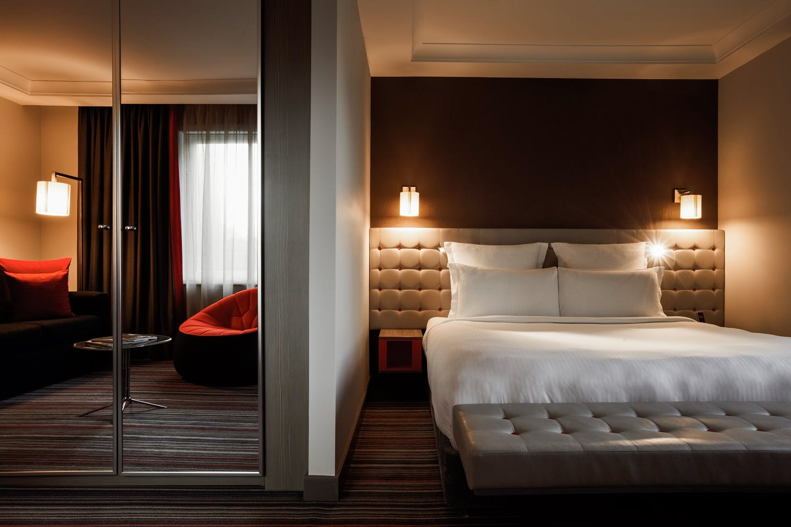 Bedrooms Events Pullman London St Pancras Hotel