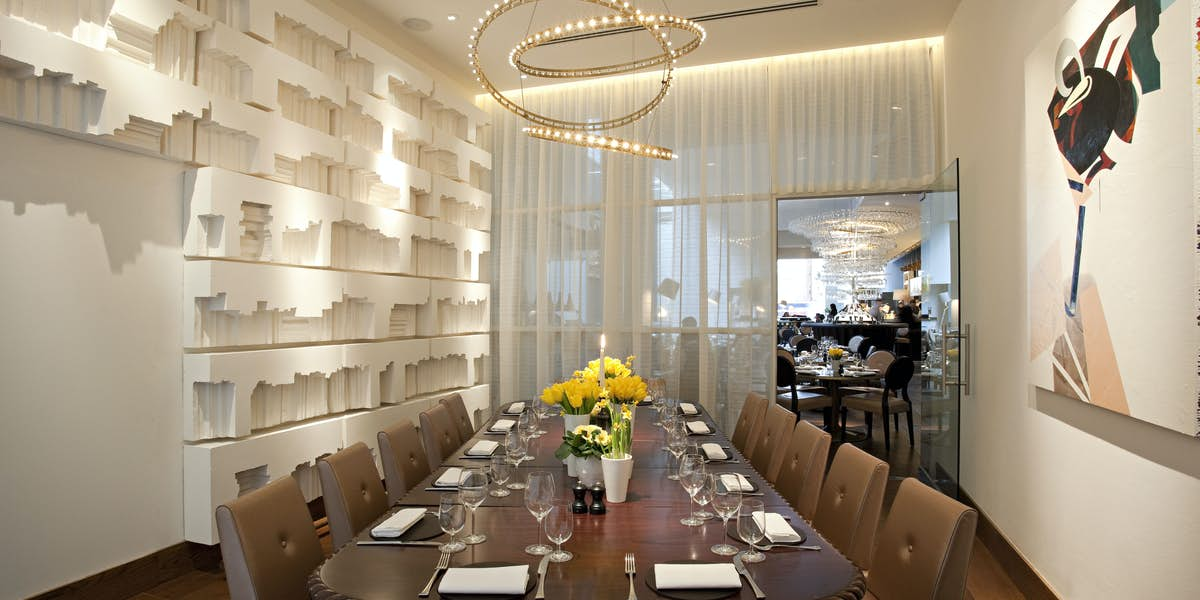 Hire avenue for Q dining room london