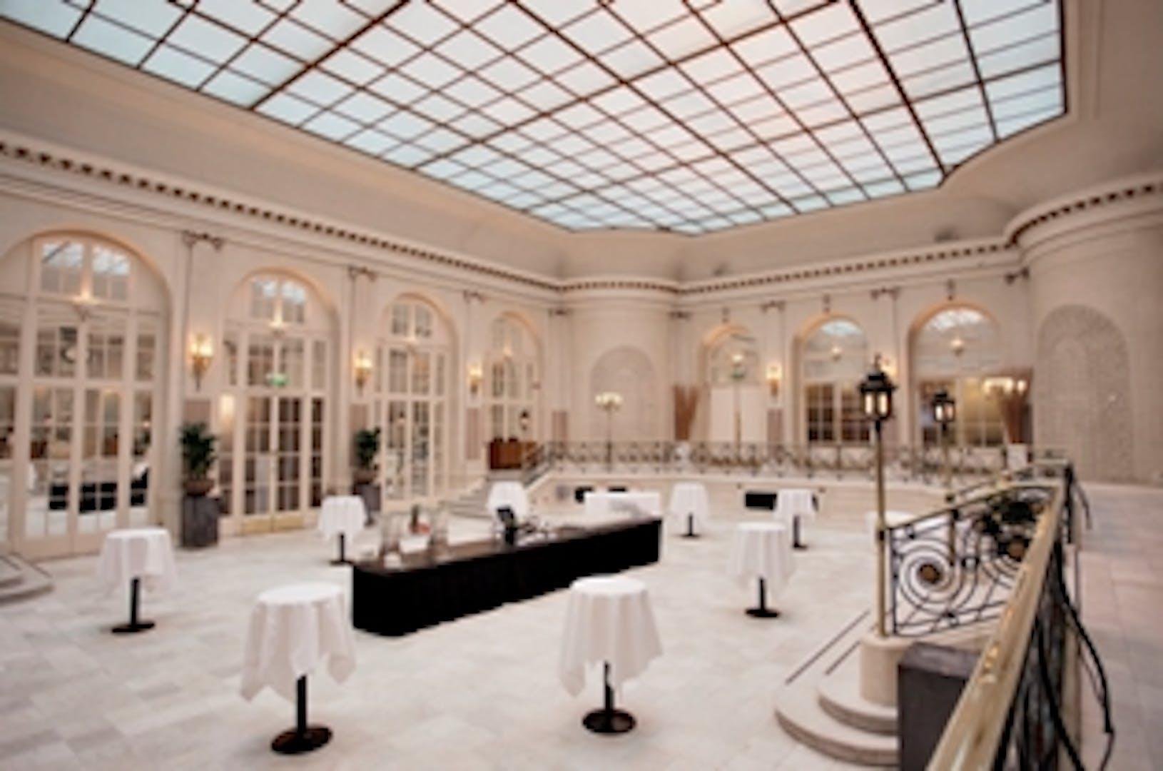 palm court weddings hire the waldorf hilton hotel