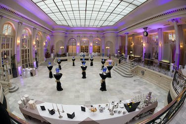 Hire Space - Venue hire Palm Court at The Waldorf Hilton Hotel