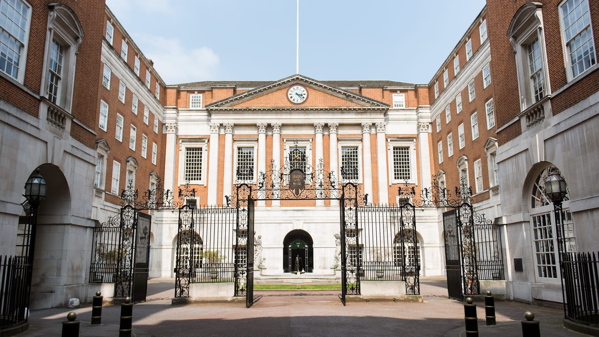 Grand exterior of BMA House