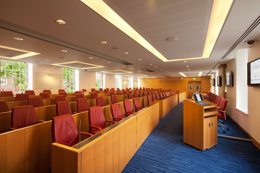 Photo of Council Chamber at BMA House
