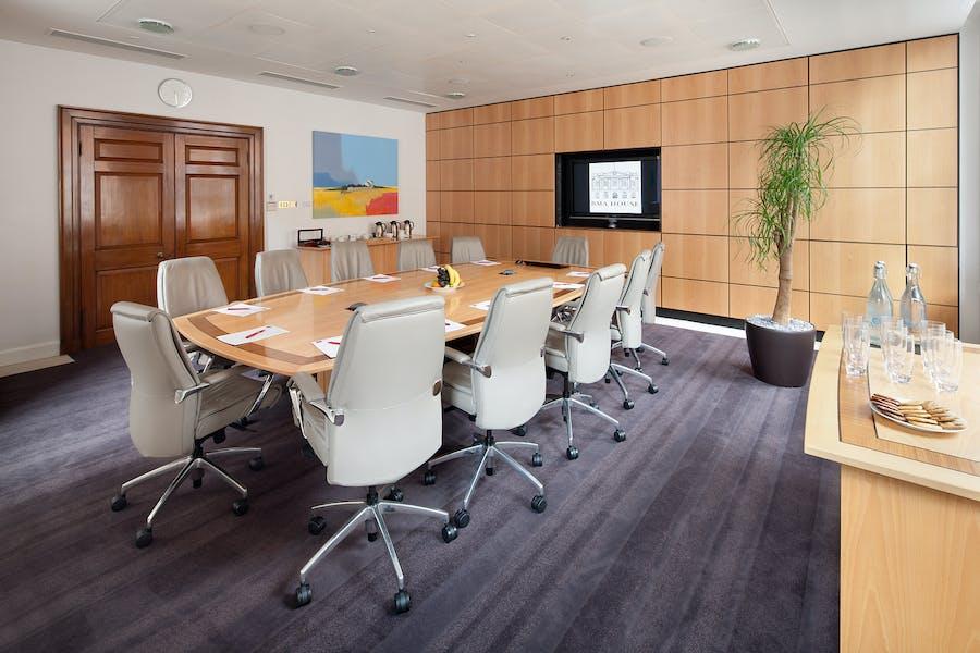 Photo of David Carter Room at BMA House