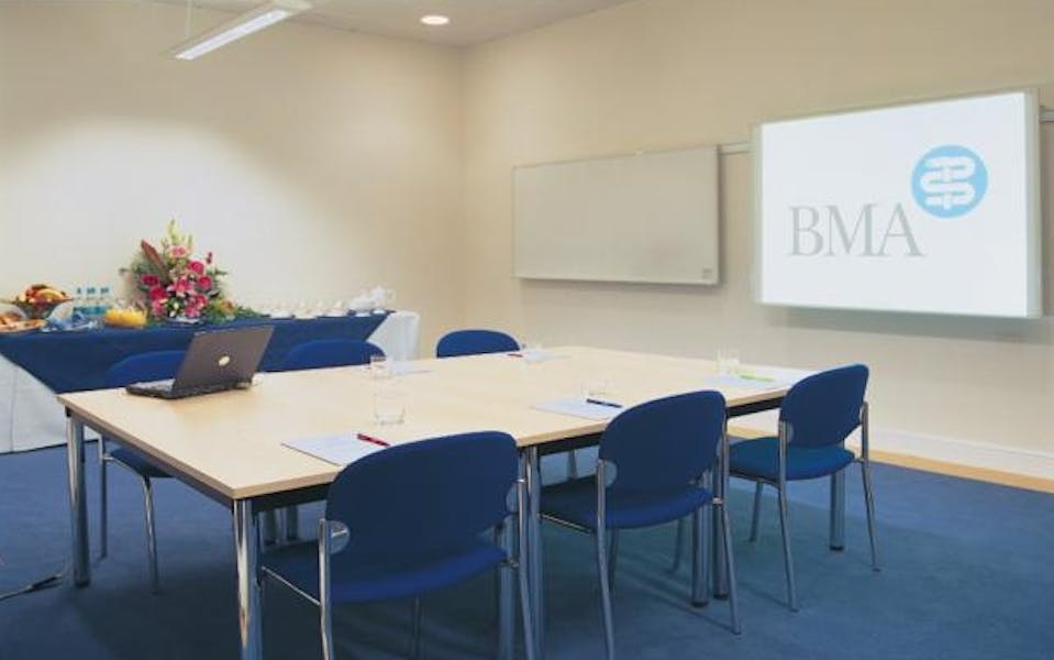 Photo of James Simpson Room at BMA House