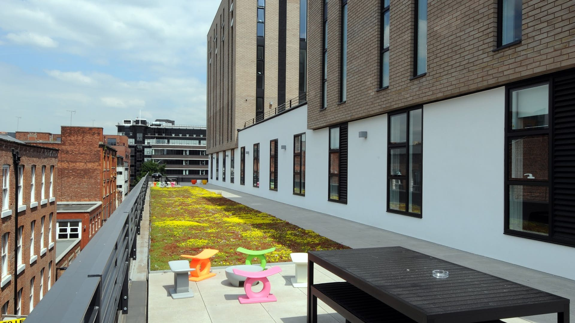 Roof terrace business hire thestudio manchester for Terrace northern quarter