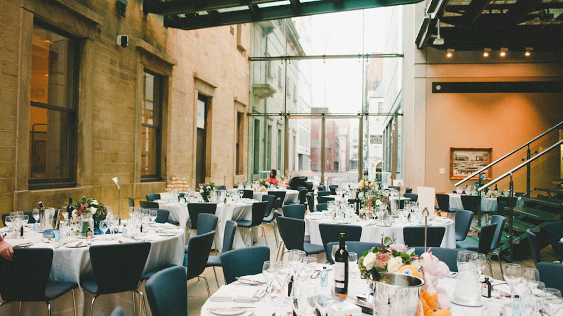 Atrium Weddings Hire Manchester Art Gallery