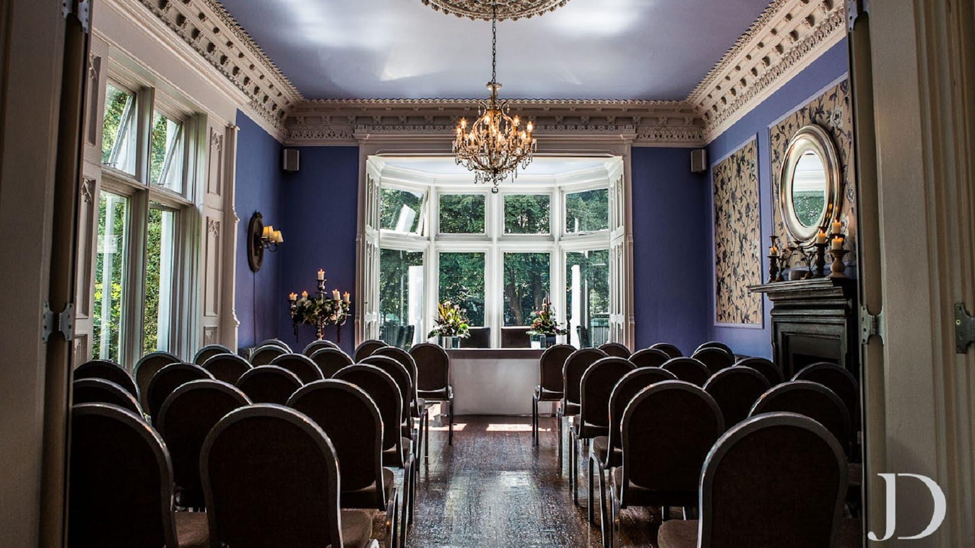 Didsbury House Hotel Blue Room