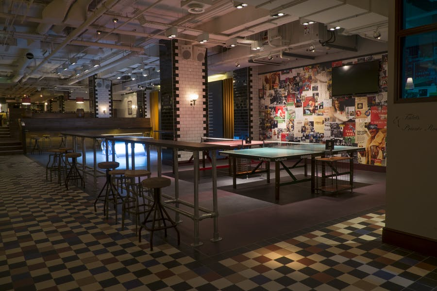 Photo of Main Space at Bounce, the home of Ping Pong | Holborn