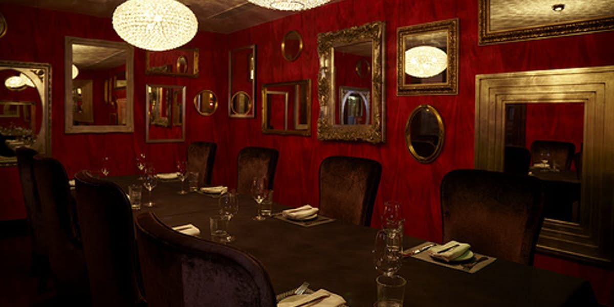 Hire malmaison london for Q dining room london