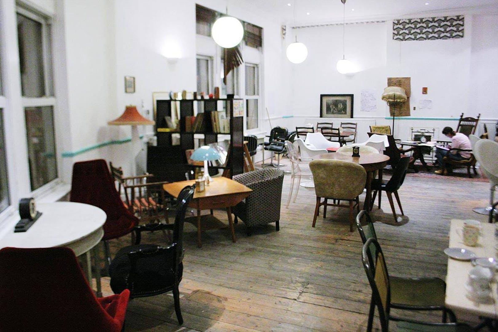 Living Room Business Hire Ziferblat London
