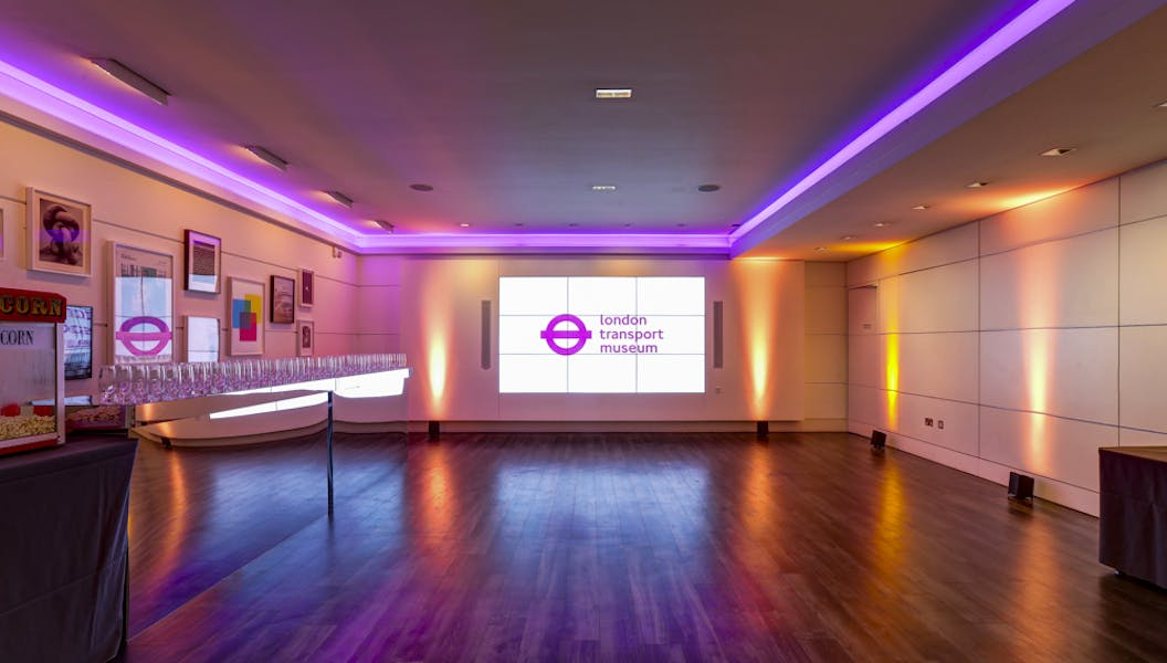 Photo of The Cubic Theatre at London Transport Museum