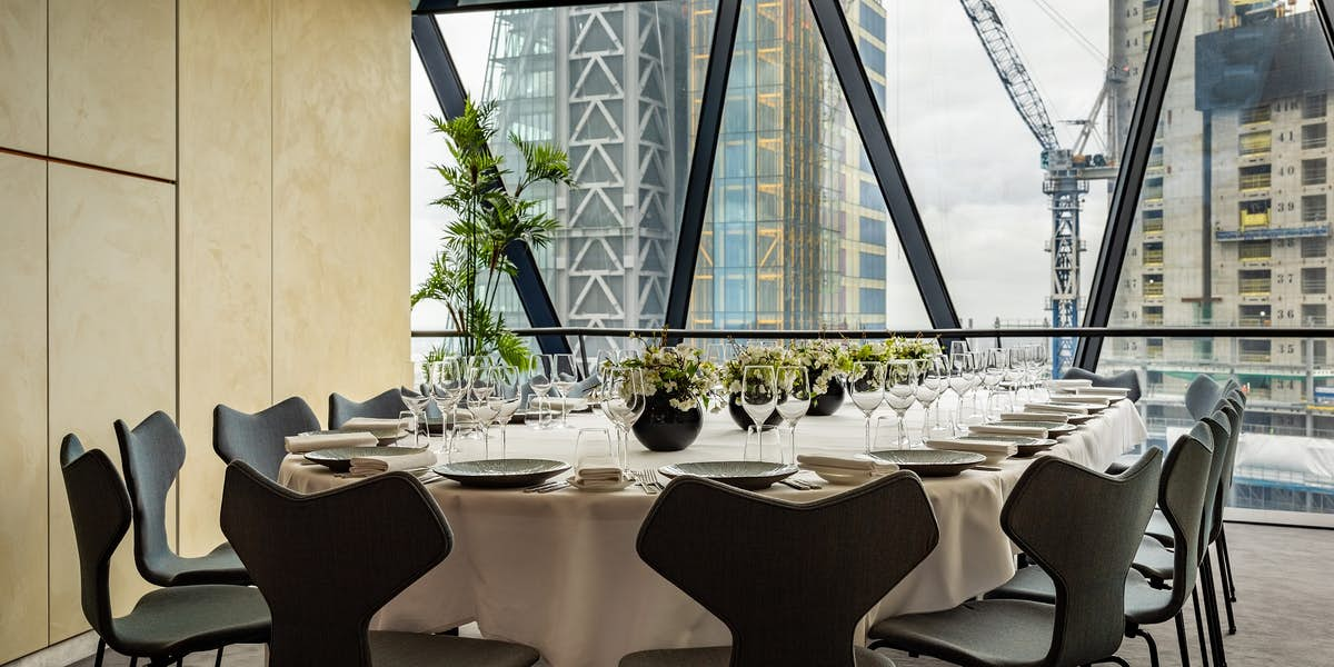 Hire A Room At The Gherkin
