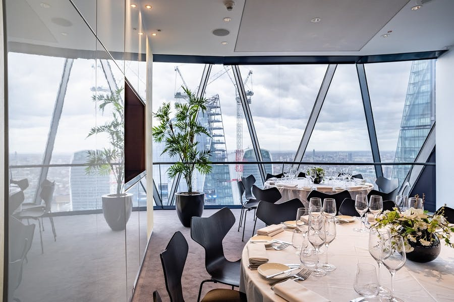 Photo of Cirrus Room or Cumulus Room at Searcys at the Gherkin