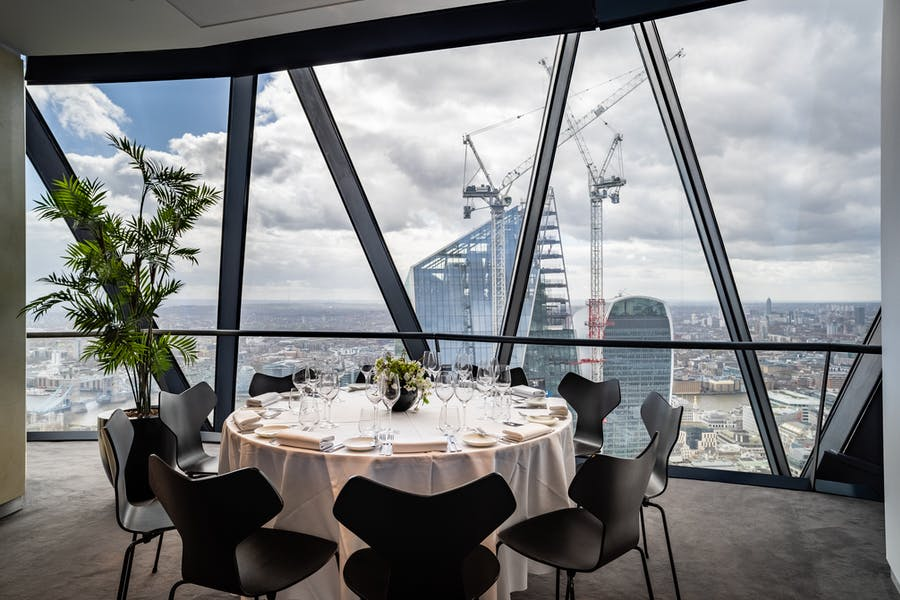 Photo of Cirrus Room or Cumulus Room at Searcys Gherkin