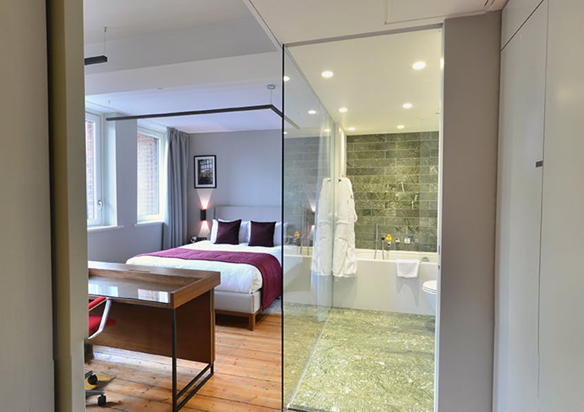 Photo of Bedrooms at Town Hall Hotel