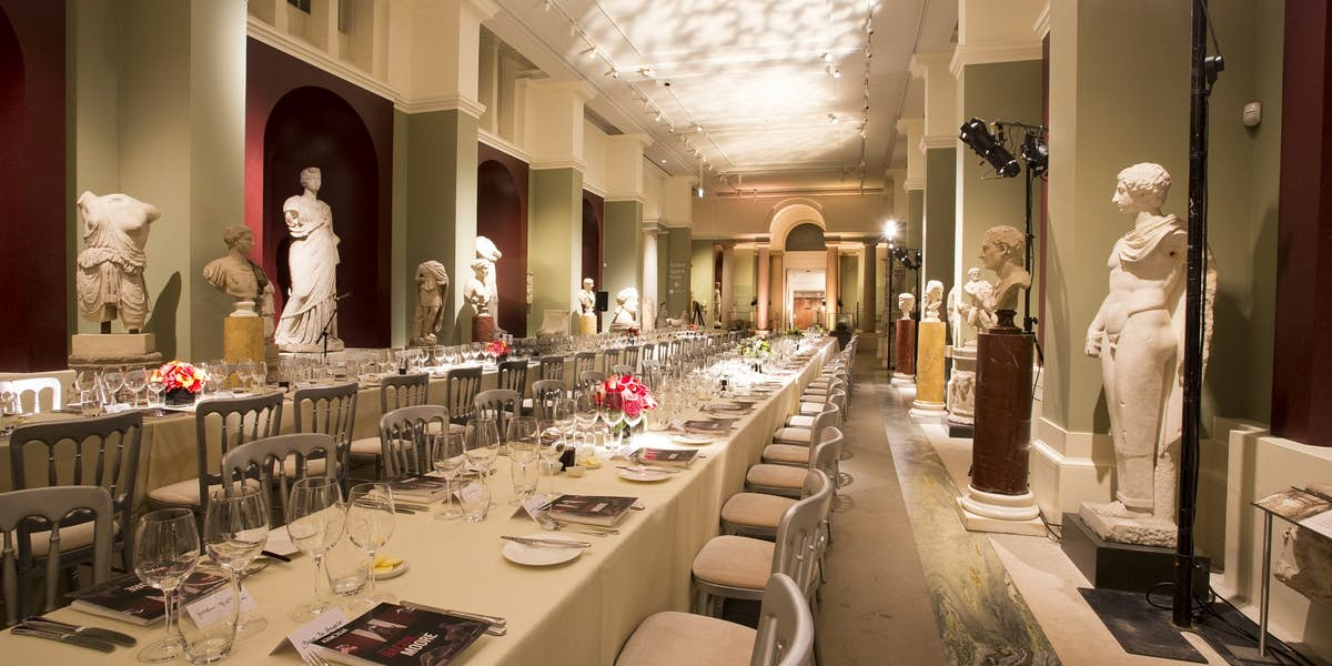 Photo Of Randolph Sculpture Gallery At Ashmolean Museum Dining Room