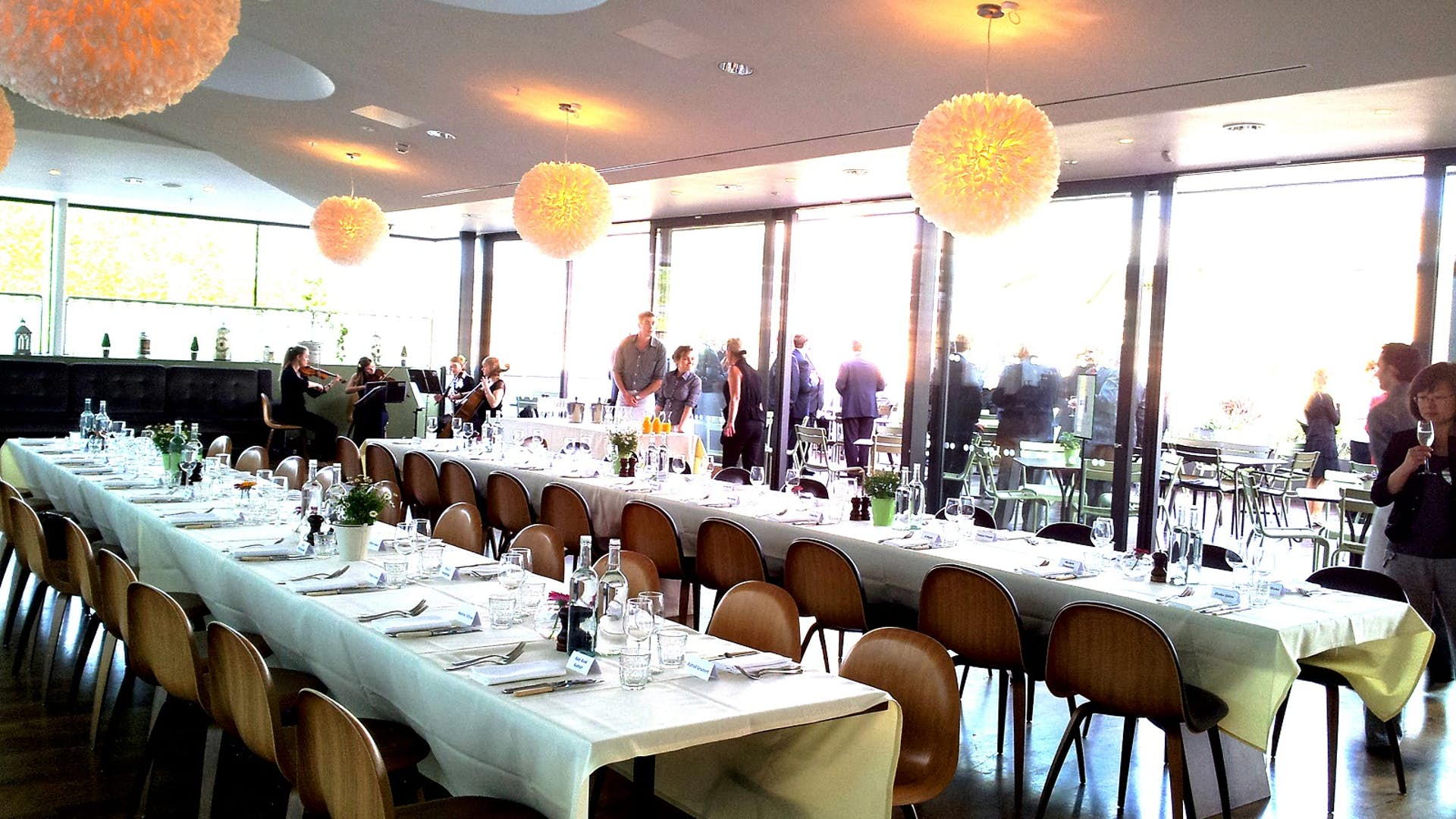 Ashmolean Dining Room