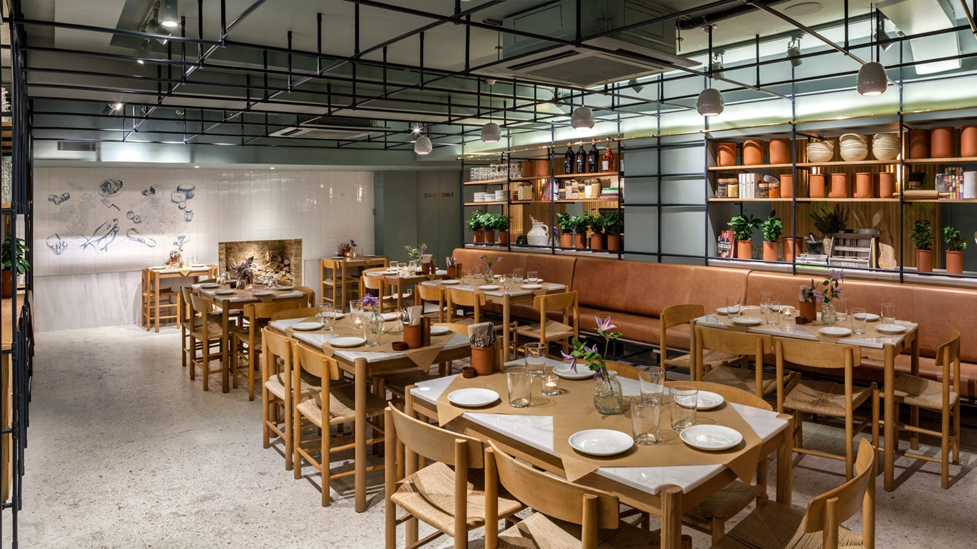 The larder room dining hire opso for Q dining room london