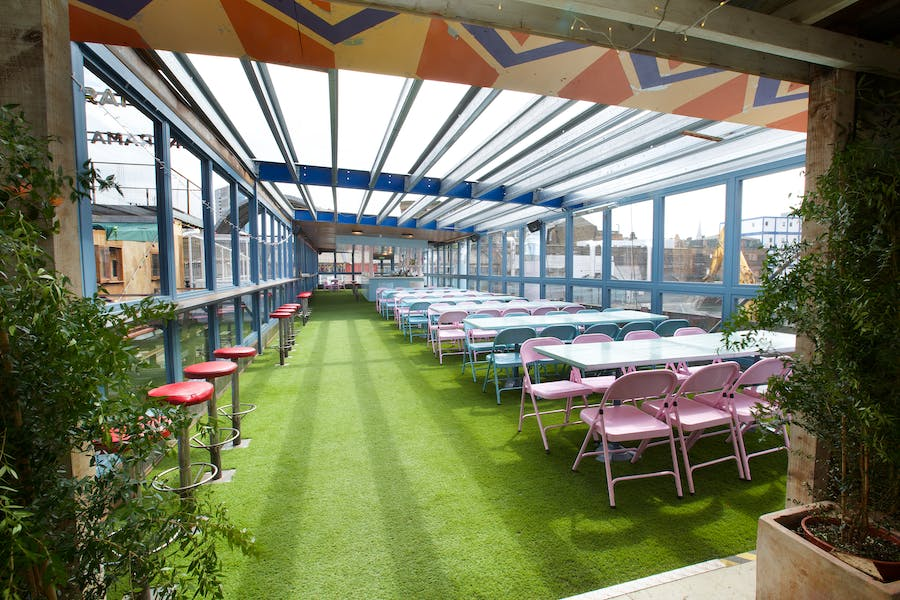 Photo of Pavillion (In the summer) / Zephyr Lounge (In the winter) at Dinerama