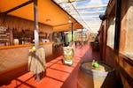Rum Rooftop (In the summer) / Alpine Lodge (In the winter) at Dinerama
