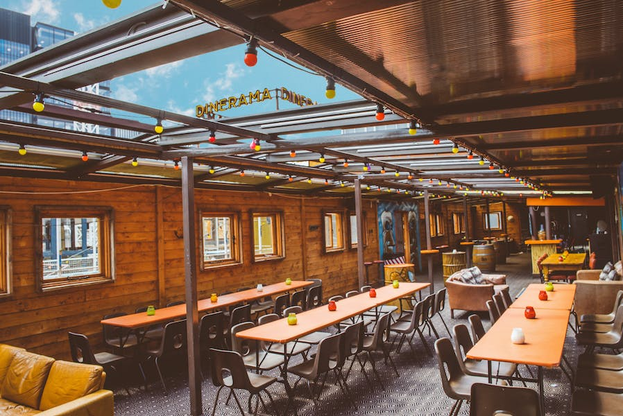 Photo of Rum Rooftop (In the summer) / Alpine Lodge (In the winter) at Dinerama