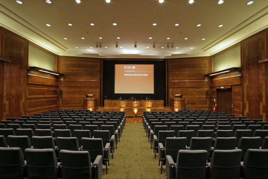 Photo of Jarvis Auditorium at The Royal Institute of British Architects (RIBA)
