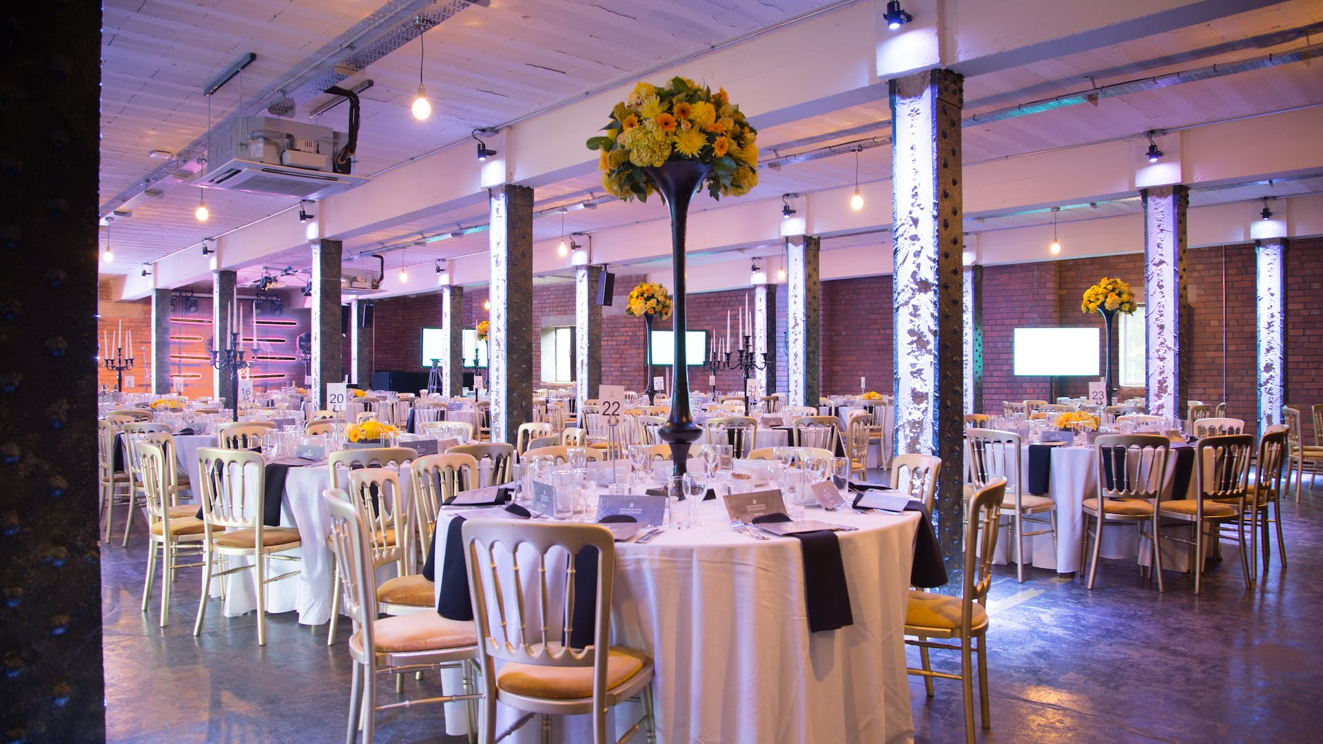The Bays Events Hire Victoria Warehouse