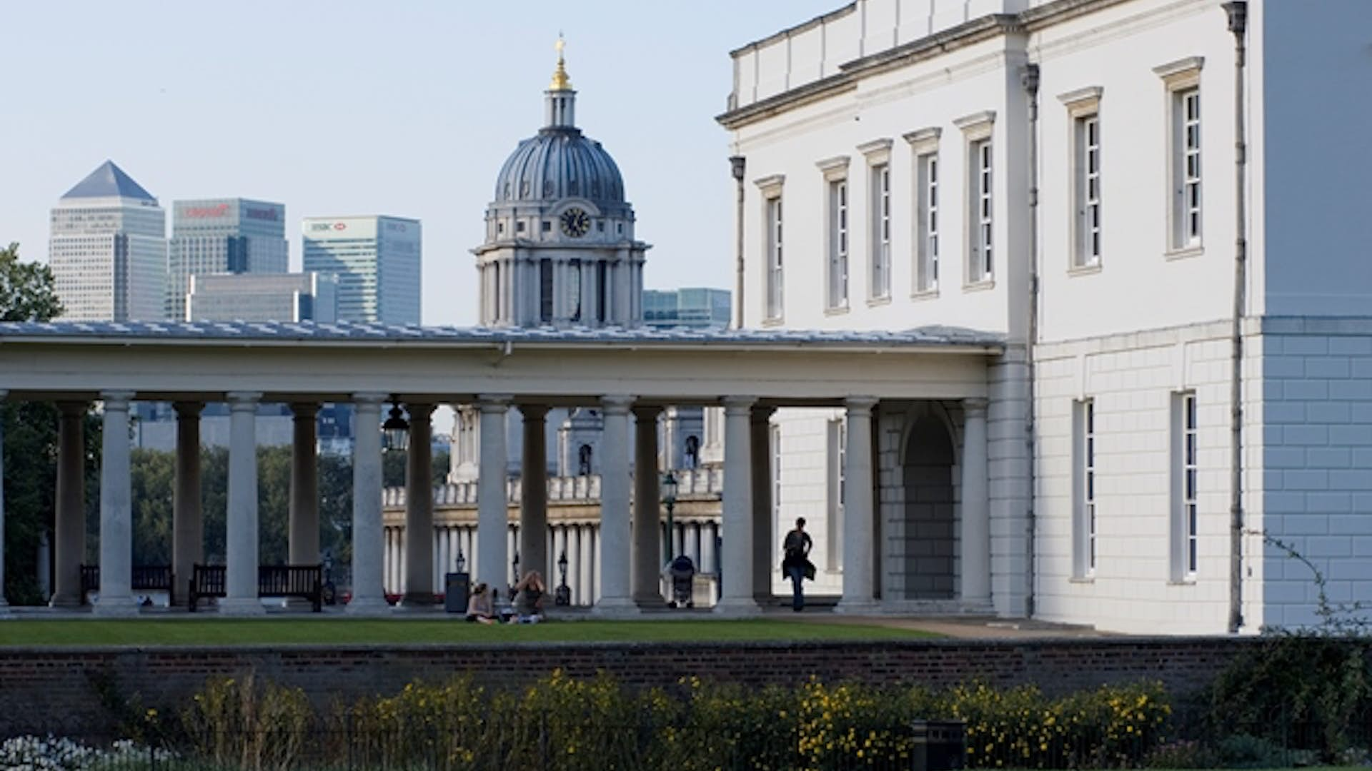Colonnades at National Maritime Museum