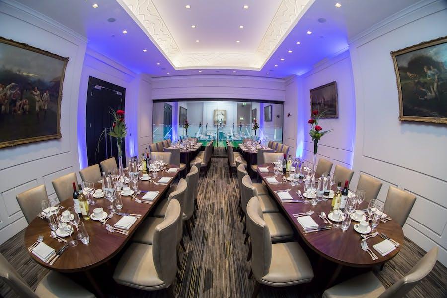 Photo of President's Suite at Twickenham Stadium