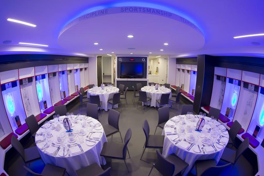 Photo of England Changing Rooms at Twickenham Stadium