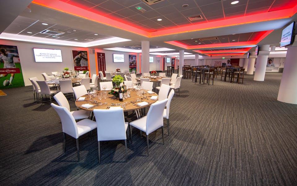 Photo of Captains Club at Twickenham Stadium
