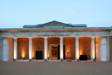 Hire Space - Venue hire Whole site at The Serpentine Galleries