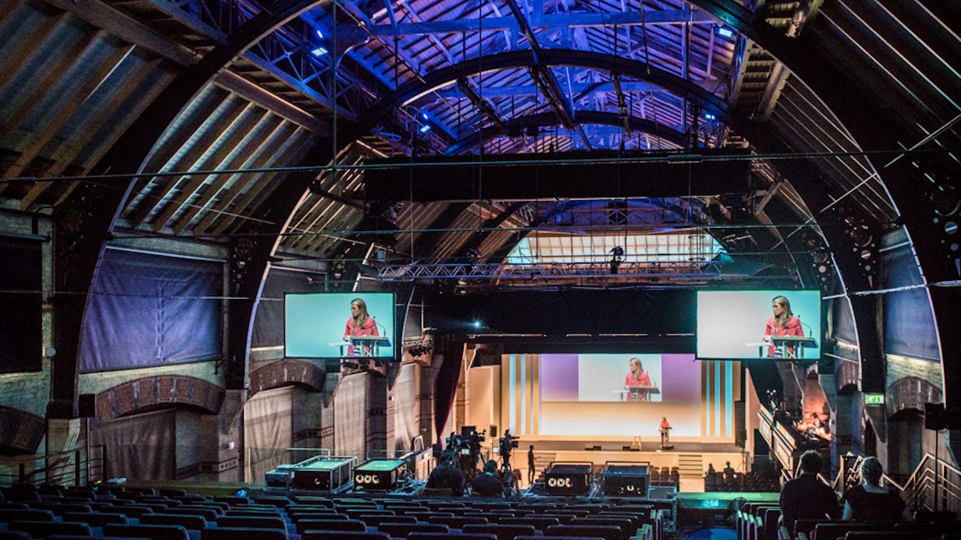 Auditorium Business The Cambridge Corn Exchange