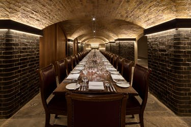 Hire Space - Venue hire The Napoleon Cellar at Berry Brothers & Rudd