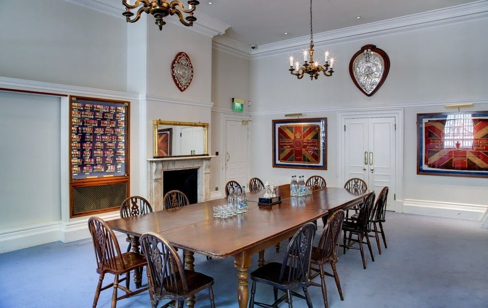 Photo of Medal Room at The HAC (Honourable Artillery Company)