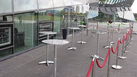 Hire Space - Venue hire Outside Space at The Crystal